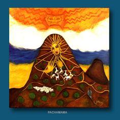 pachamama art Batik Art, Goddess Art, Divine Feminine, Terra, Mother Earth, Art Images, Mythology, Heroines, Goddesses