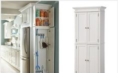 Free Standing Broom Closet Plain Nice by no means go out of types. Free Standing Broom Closet Plain Nice may be ornamented in Storage Cabinets, Tall Cabinet Storage, Broom Cabinet, Broom Holder, Laundry Room Organization, Best Rated, Modern Architecture House, Closet Designs, Garage Storage
