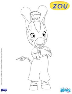 ZOU Coloring And Page Find Your Favorite In The Cute Little Zebra Pages Section This