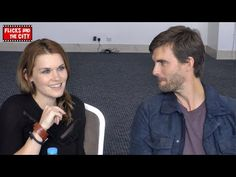 Haven Seasons 4 & 5 - Emily Rose & Lucas Bryant Interview