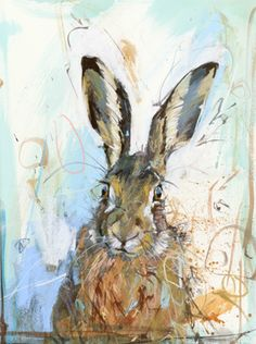 mad about hares at the moment. love this