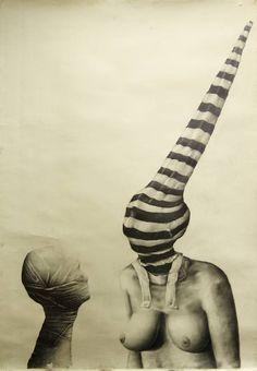 """Saatchi Art Artist Szekely-Rafan Lucian; Drawing, """"teatru chimic II"""" #art"""