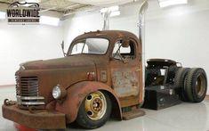 Custom Big Rigs, Custom Trucks, Cool Trucks, Big Trucks, Diesel Rat Rod, Custom Motorcycle Paint Jobs, Little Truck, Cab Over, Old Tires