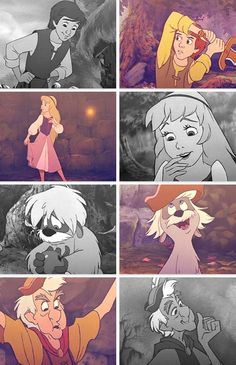 The Black Cauldron - loved it as a kid, loved those books. Then I saw the movie again as an adult and really didn't see what was so great about it. Still. Munchy-Crunchies in there somewhere.