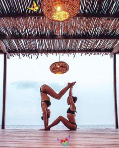 23 best couples yoga challenge images  couples yoga yoga