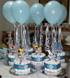 18 ideas baby shower decorations to make wedding cakes for 2019 wedding babyshower baby throw your daughter to be a pr is listed or ranked 16 on the list adorable baby shower ideas for the mom to be Baby Shower Cakes, Idee Baby Shower, Mesas Para Baby Shower, Shower Bebe, Baby Shower Table, Baby Shower Diapers, Baby Shower Balloons, Baby Shower Favors, Baby Shower Themes