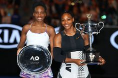 Venus & Serena Williams  - 31 Celebrities and Their Famous Siblings