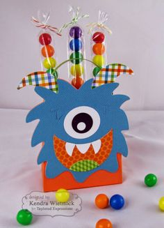 Kendra's Card Company: Taylored Expressions May Sneak Peeks: Sack-It Monster & Dino-Mite!