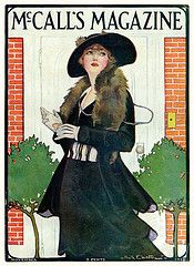McCall's cover by Ruth Eastman, Nov 1915,