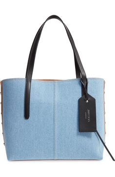 Jimmy Choo Twist East West Denim Tote available at #Nordstrom