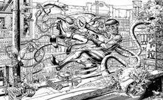 Mike Sutfin - Spider-Man vs. Doctor Octopus Original