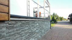 Nowoczesny taras wykonany przy użyciu profilu Renoplast zdj1 Garage Doors, Industrial, Outdoor Decor, Home Decor, Balcony, Decoration Home, Room Decor, Industrial Music, Home Interior Design