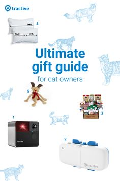 Find the 5 best gift ideas for all cat lovers in every budget. 5 Gifts, Best Gifts, Cat Lover Gifts, Cat Lovers, Gift Guide, Dog Cat, Budget, Kitty, Gift Ideas