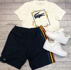 Father's Day Ideas! Shop looks like this and many more here at your one-stop sh. Dope Outfits For Guys, Swag Outfits Men, Stylish Mens Outfits, Nike Outfits, Casual Outfits, Streetwear Shorts, Mode Streetwear, Nike Free Run, Hype Clothing