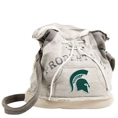 These purses take the authentic look and feel of your favorite team sweatshirt and craft them into purses that will give you that Saturday night style even when you're heading off to the Sunday aftern