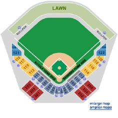 See A Seating Chart For Surprise Stadium In Arizona This Is The Spring Training Home Texas Rangers And Kansas City Royals