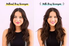 See how you can use dry shampoo to add texture when styling hair.