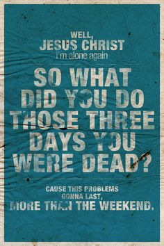 Brand New - Jesus Christ  Jesse Lacey gets me