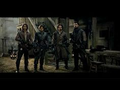 """The Musketeers BBC: Tom Burke on """"troubled"""" Athos and the bond he shared with his co-stars Luke Pasqualino, Howard Charles and Santiago Cabrera Bbc Musketeers, The Three Musketeers, The New Doctor, Doctor Who, Netflix Tv Shows, Movies And Tv Shows, Howard Charles, Luke Pasqualino, Tom Burke"""