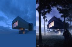 ArchViz Postproduction Compilation on Behance