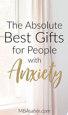 These gifts for anxiety relief are the perfect gift ideas for people with anxiety or depression. They will not only make your gift recipient happy, they will hopefully make their life better and more relaxing. Natural Remedies For Anxiety, Anxiety Remedies, Natural Cures, Sleep Remedies, Natural Health, Anxiety Tips, Anxiety Help, Health Anxiety, Mental Health