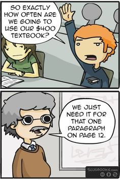 True story...I think I spent a good 1k on my first year on textbooks that I used like twice...