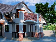 Bungalow House Design Philippines 2015 – Design House of Filipino Bungalow - Home: Living color House Roof Types, House Roof Design, Philippines, Modern Bungalow House Design, Roof Cladding, House Flippers, Roof Installation, Layout, House Floor Plans