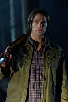 """Jared Padalecki on Supernatural from """"How To Win Friends And Influence Monsters""""."""