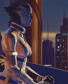 It was good to catch up with Liara again, but taking down the Shadow Broker together, fighting on the exterior of his base while energy pulses flash around them, that was almost nostalgic. And the quiet conversations over glasses of honey mead they share afterwards, those are even better. She didn't realise how much she'd missed Liara's soothing influence before. It's frankly a pity they when have to part ways again, but both of them know they have important things to do.