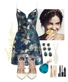 """Scarlett Holmes: 02"" by sofia-bassan ❤ liked on Polyvore featuring Zimmermann, Valentino, T Tahari, Roberto Coin, Dolce&Gabbana, Stila and Chopard"