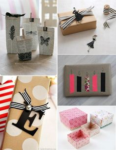 Ideas para envolver regalos esta Navidad | Aprender manualidades es facilisimo.com