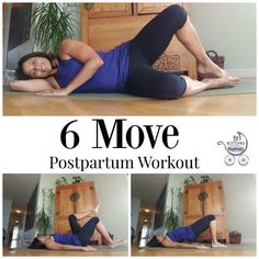 Ready for your first postpartum workout? We've got six moves for you!