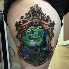 http://www.homefavour.com/category/Dyson/ Brilliant Hogwarts Tattoo by Ashlea…