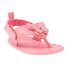 Flip Flop Pre-Walkers   Baby Girl Shoes.  Otra, de mariposita! ^^