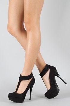 Pretty Black High Heels