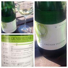 Gruner Veltliner from Hungary? And for six bucks? #porchpounder