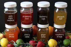 Fruit & Herb Honey Syrups