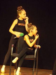 Maddie Ziegler and Mackenzie Ziegler Europe Tour