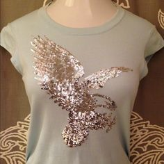 Iisli sequin eagle top - Size Medium Get'em girl in this cute a$$ Iisli sequin eagle top in size medium. I bought this on 5th Ave in NYC when the brand was brand new 😋. Own it! Iisli  Tops