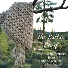 The Ruthie scarf...free pattern