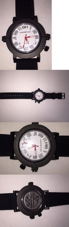 Other Wholesale Wristwatches 40133: Nib. Morphic 3103 M31 Series Menswatch, Mph3103 Whitw Face Black Band Swiss Made -> BUY IT NOW ONLY: $59.95 on eBay!