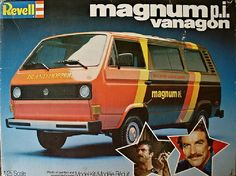 Magnum P.I. Vanagon even though this was the Island Hopper van T.C. drove.