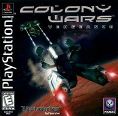 Old school video games: COLONY WARS. Repin if you remember!