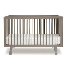 Oeuf Sparrow Crib In Grey Modern Nursery And Kids Furniture Canada