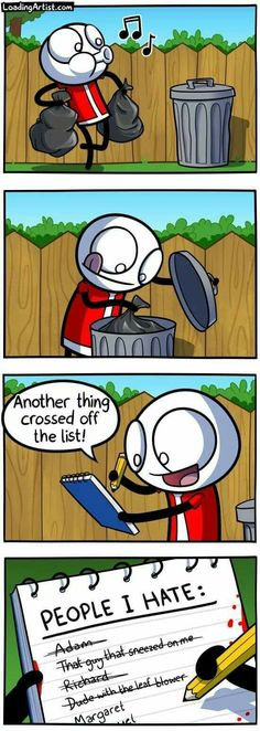 25 Dark and Hilarious Comics by Loading Artist- If you like short funny stories with a hint of darkness then look no more. Theodd1sout Comics, Dark Comics, Dark Humor Comics, Funny Shit, Stupid Funny Memes, Funny Stuff, Memes Humor, Funny Cartoons, Funny Comics