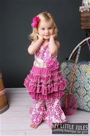 Mustard Pie Clothing - Mia Dress Pop Pink