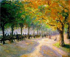 Hyde Park, London  Camille Pissarro,