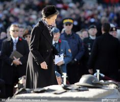 Princess Anne, November 11, 2014 | Royal Hats..... Posted on November 12, 2014 by HatQueen..... Princess Anne and Vice Admiral Sir Timothy Laurence are in Canada this week for a brief visit, where yesterday, they took part in Ottawa's Remembrance Day ceremony and rededicated the Canadian National Ware Memorial.