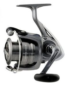 Daiwa Crossfire Front Drag Spinning Fishing Reel (Grey, These value-packed spinning reels offer a high level of fishing performance without the high price tag. Match perfectly with Crossfire CFE Spinning Rods. Fishing Tackle, Fishing Tips, Bass Fishing, Best Fishing Reels, Spinning Rods, Crossfire, Salmon Fishing, Fishing Equipment, Infinite