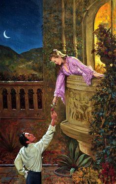 ✿⊱❥ Robert Berran ♥ a fine romance ♥ X ღɱɧღ Fantasy Kunst, Fantasy Art, Romance Arte, Lovers Romance, Art Romantique, Renaissance Kunst, Art Amour, Romantic Paintings, Book Cover Art